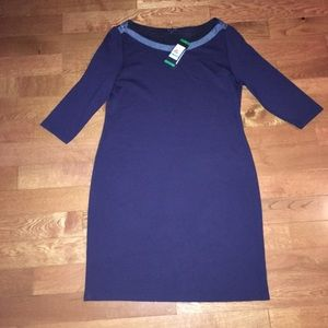 Tommy Hilfiger Women's dress blue denim career xl